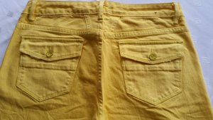 Closed Denim Flares neon yellow mixture fibre