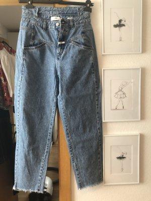 Closed Hoge taille jeans lichtblauw-blauw
