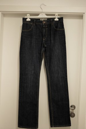 Closed Straight Leg Jeans blue-dark blue cotton