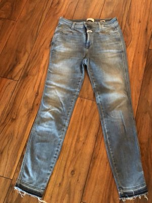 Closed Hoge taille jeans korenblauw-azuur Gemengd weefsel