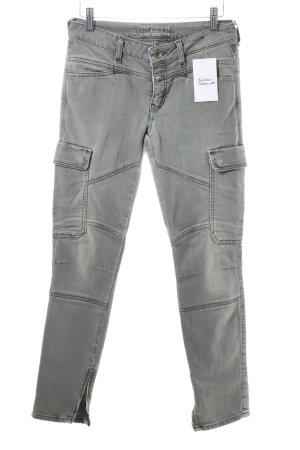 Closed Jeans grüngrau Military-Look