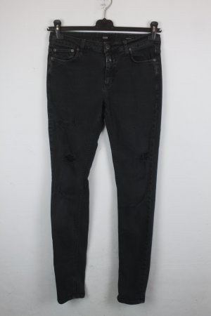 Closed Jeans Lizzy 1521 Gr. 28 black denim rugged look (18/6/
