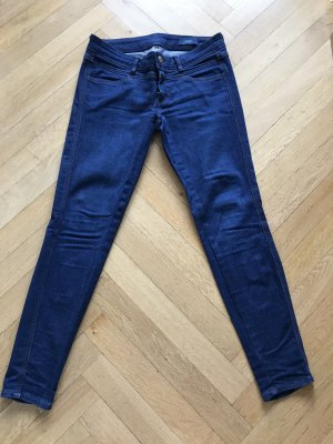 CLOSED Jeans Pedal X Copped blau Skinny Denim Gr. 26