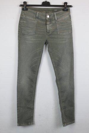Closed Jeans Slim Fit Gr. 26 khaki denim