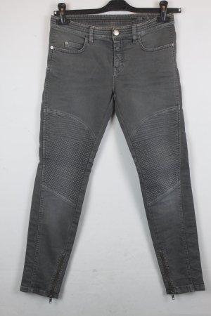 Closed Jeans Slim Fit Gr. 27 grey denim Bikerlook