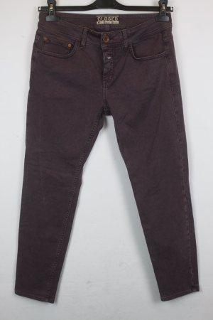 Closed Jeans Slim Fit Gr. 29 purple denim (MF/R/SC)