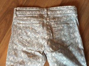 CLOSED Jeans weiß gemustert Gr. 25