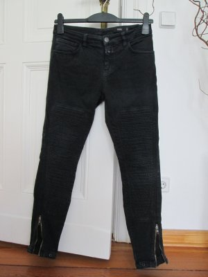 Closed Jeans Weite 27 grau-schwarz