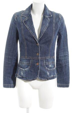 Closed Jeansblazer blau Casual-Look