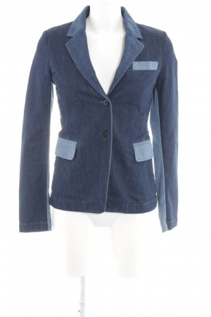 Closed Denim Blazer dark blue-steel blue simple style