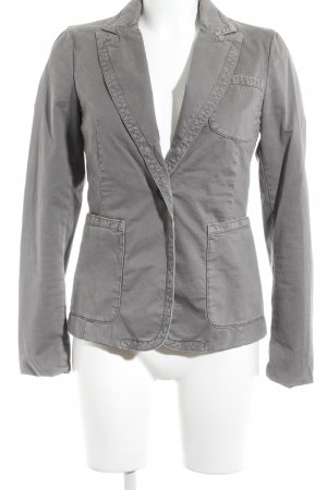 Closed Jeansblazer grau-hellgrau Washed-Optik