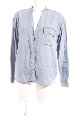 Closed Jeansbluse himmelblau Casual-Look