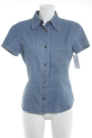 Closed Denim Shirt steel blue Brit look