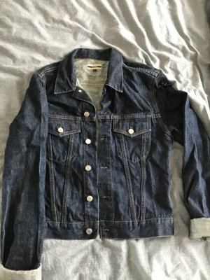 Closed Denim Jacket dark blue cotton
