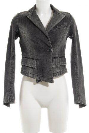 Closed Jeansjacke hellgrau Casual-Look