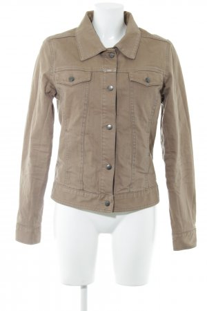 Closed Jeansjacke creme-braun Casual-Look