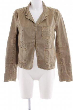 Closed Jeansjacke camel Boho-Look