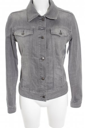 Closed Denim Jacket grey acid wash