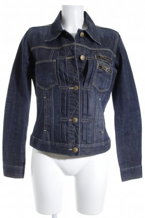 Closed Jeansjacke graublau Jeans-Optik