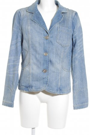 Closed Jeansjacke stahlblau Casual-Look