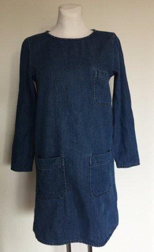 Closed Vestido vaquero azul oscuro Algodón