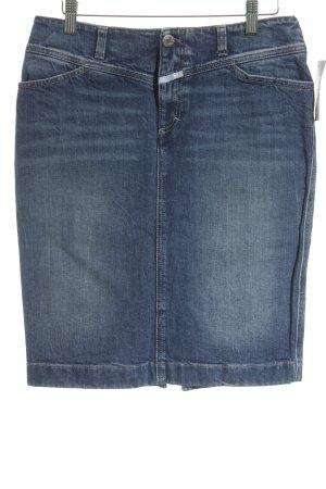 Closed Jeansrock blassblau Jeans-Optik