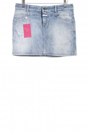 Closed Jeansrock blau Used-Optik