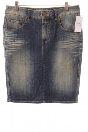Closed Jeansrock dunkelblau Washed-Optik