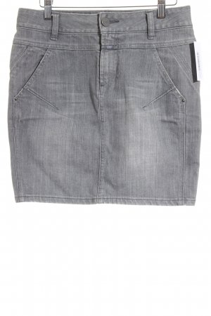 Closed Jeansrock grau Casual-Look