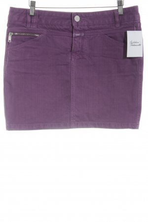 Closed Jeansrock lila Casual-Look