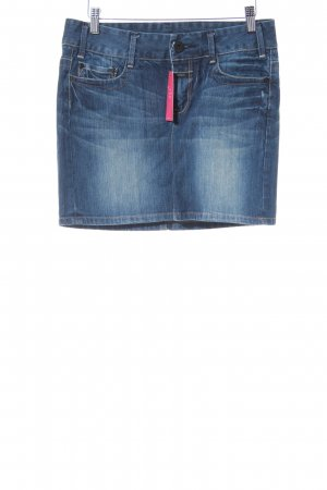Closed Denim Skirt steel blue casual look