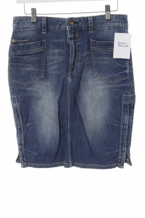 Closed Jeansrock stahlblau Casual-Look