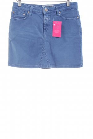 Closed Jeansrock stahlblau Jeans-Optik
