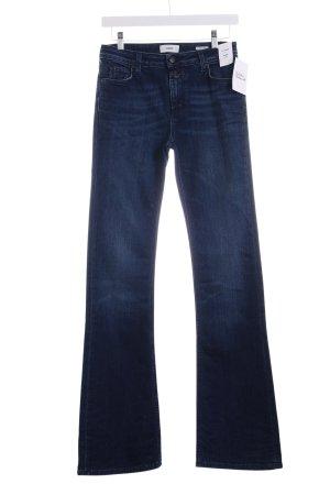 Closed Jeansschlaghose dunkelblau Casual-Look