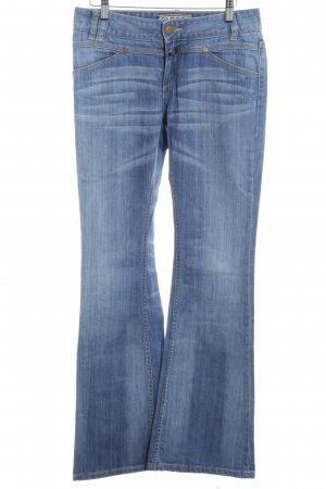 Closed Jeansschlaghose stahlblau Casual-Look