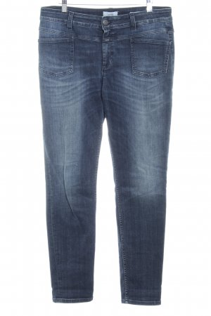 Closed Jegging donkerblauw Jeans-look