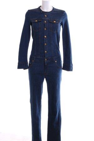 Closed Jumpsuit blau Casual-Look