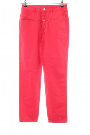 Closed Carrot Jeans red casual look