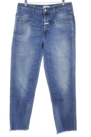 "Closed Jeans carotte ""Pusher"" bleu"