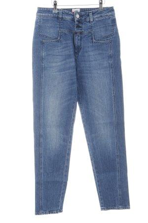 Closed Jeans carotte bleu acier style décontracté