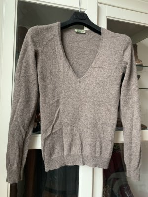 Closed Cashmere Jumper grey brown-light brown cashmere
