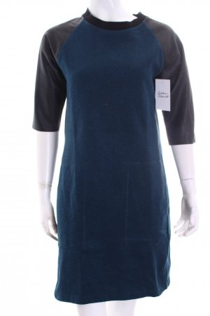 Closed Kleid petrol-schwarz Casual-Look