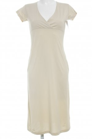 Closed Kurzarmkleid creme Casual-Look