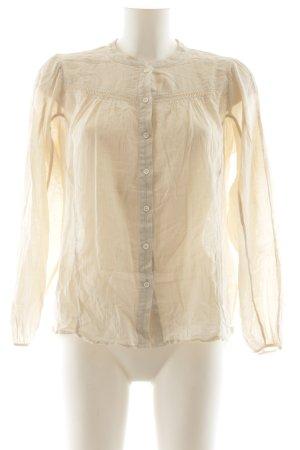 Closed Langarm-Bluse creme klassischer Stil
