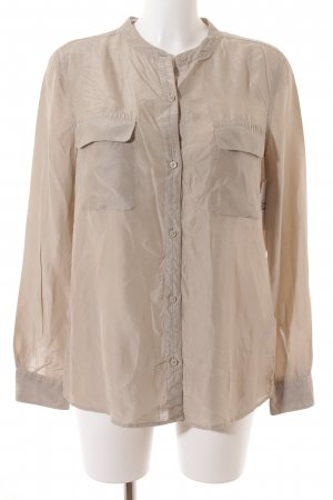 Closed Langarm-Bluse beige Casual-Look