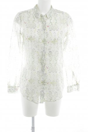 Closed Langarm-Bluse florales Muster Casual-Look