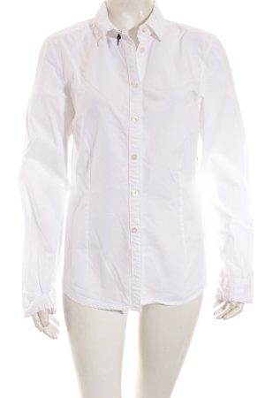 Closed Langarm-Bluse weiß klassischer Stil
