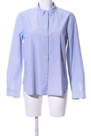 Closed Langarmhemd blau Streifenmuster Business-Look