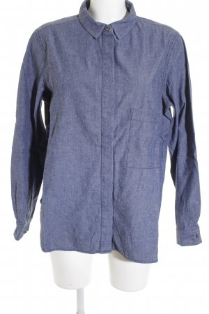 Closed Camisa de manga larga azul look casual