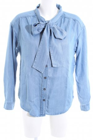 Closed Long Sleeve Shirt blue flecked casual look